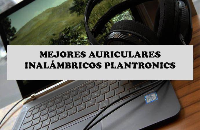 auriculares inalambricos plantronics